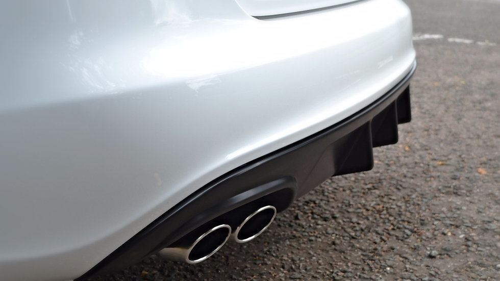 Custom rear diffuser - Audi B8 A4/S4 - NATURAL