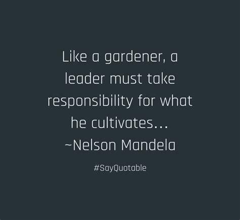 Leader as gardener