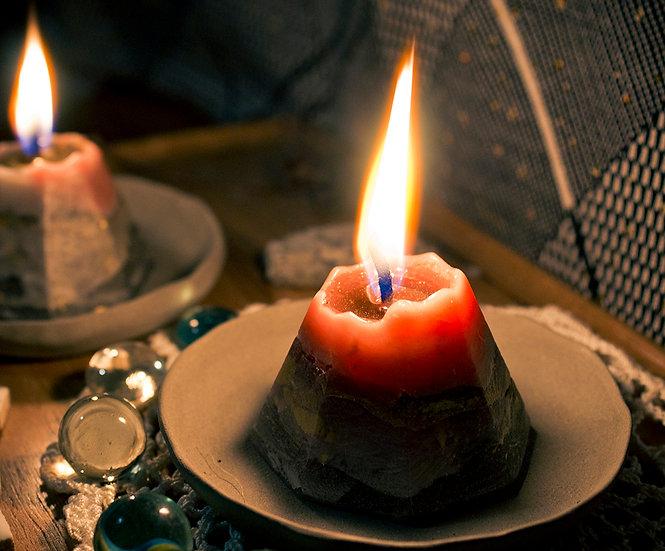 維蘇威小山蠟燭