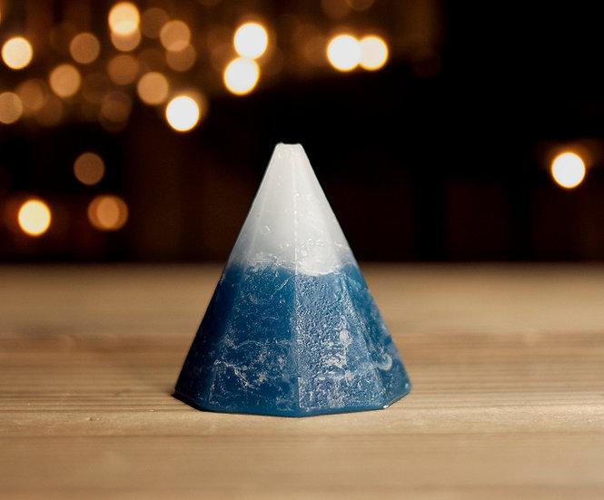 冰山小山蠟燭