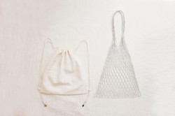 島中坊研 小索繩袋配漁網袋套裝