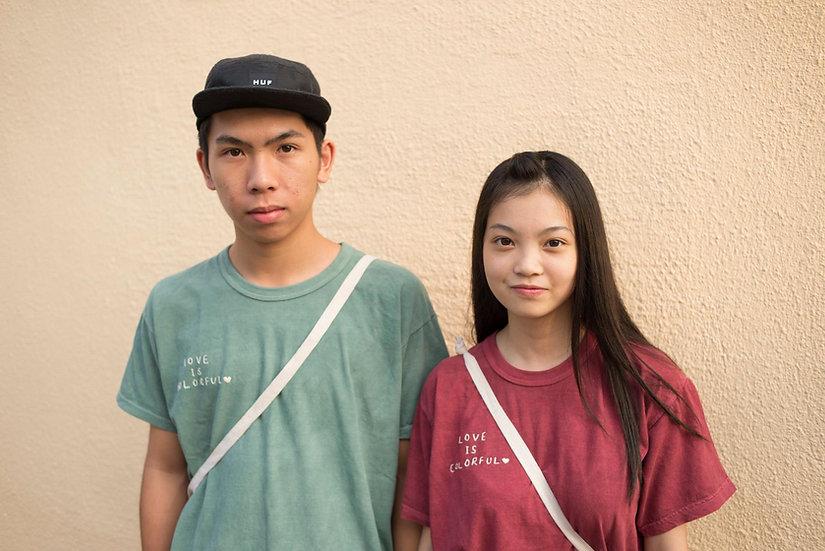 Island Workbench 島中坊研 長洲 cheung chau lady girl gift 禮物 免郵 free shipping tee shirt 衫 t-shirt 美國 USA organic cotton 有機 棉 基本日常作