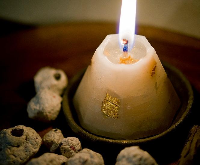 金瓜石小山蠟燭