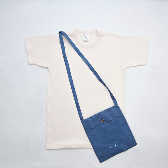 美國製有機純棉 T-shirt 配麻布日常袋優惠組合