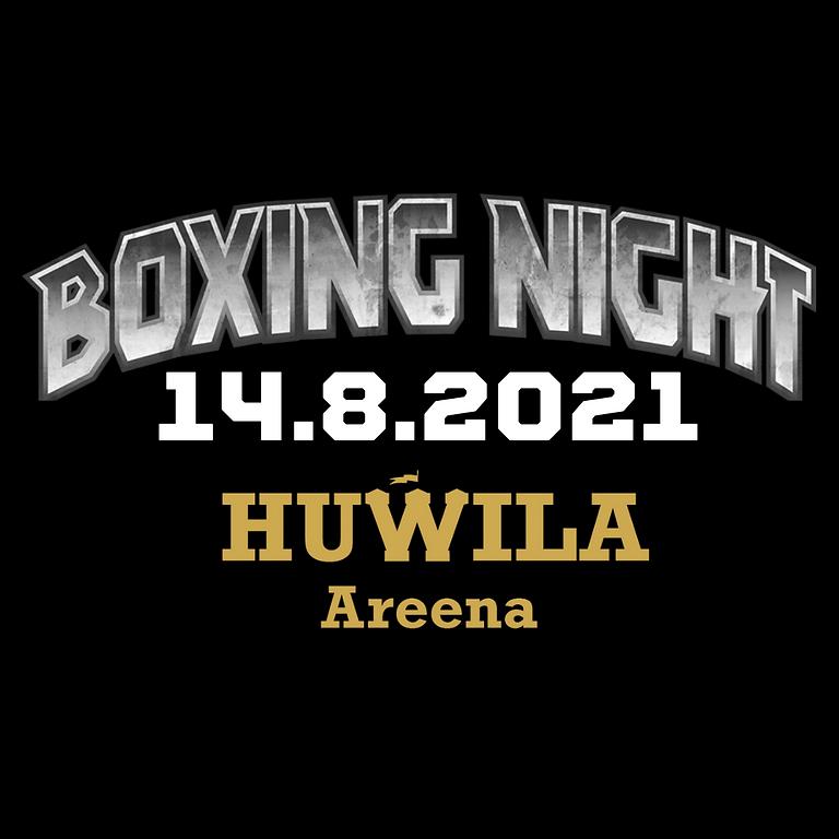 BOXING NIGHT HUWILA AREENA