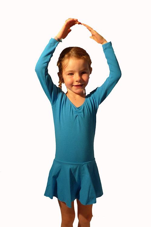 Robe léotard à manches longues pour enfant