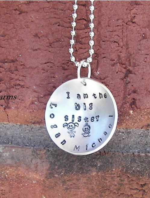 hand stamped jewelry personalized engraved jewelry
