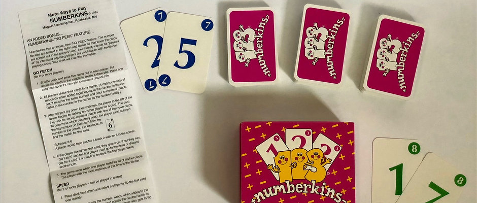 Numberkins + -