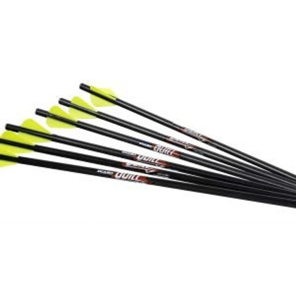 QUILL 16.5 CARBON ARROW 6PK