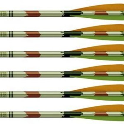 "2216 ALUMINUM ARROWS 20"" XX75 (6PK)"
