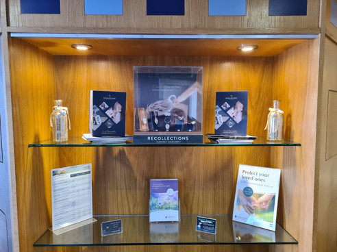 Recollections display