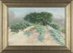 Misty Dunes Framed