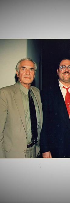 Martin Landau, Bob, & Jack Palance