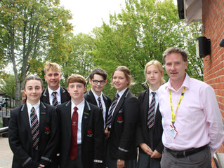 Steve Brine MP Visits The Westgate School