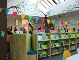 Lower School Opens its New Library!