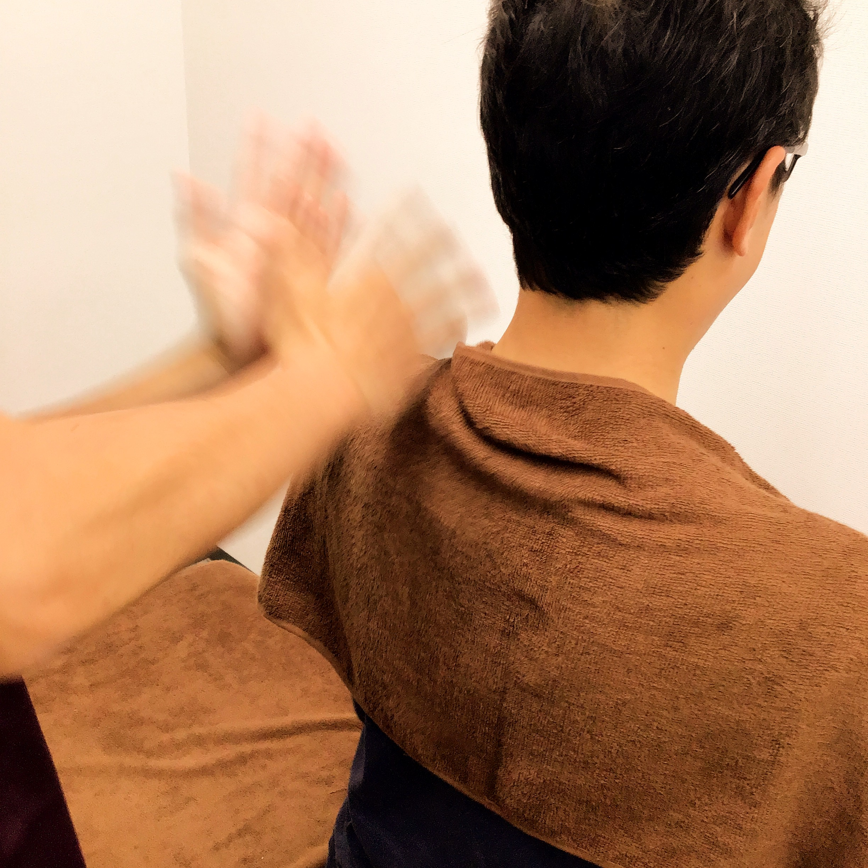 あんまマッサージ指圧の伝統的な手技です
