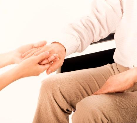 手と手で繋がる