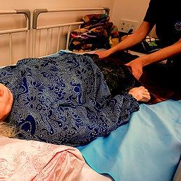 老人ホームへの訪問治療