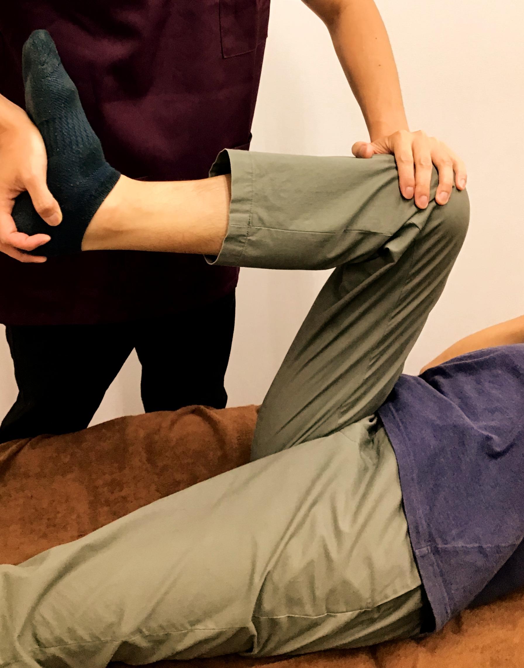 股関節のストレッチ×リハビリ×動きづけ