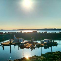 Eastport Harbor at Sunrise