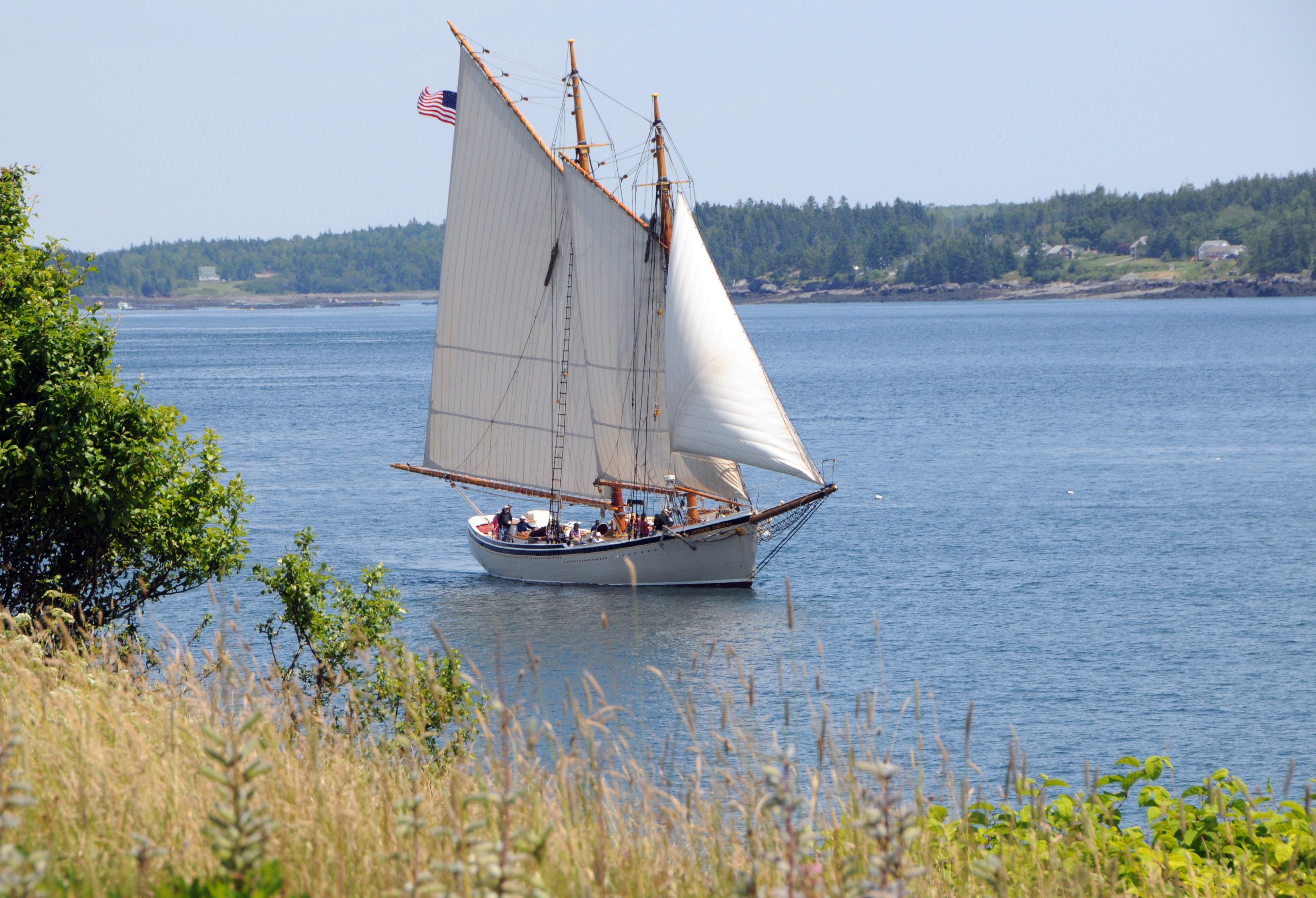 Yachting in Passamaquoddy Bay