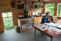 Anna Hepler's Studio, Eastport, ME