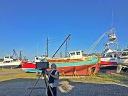 Making Art at the Boat Yard