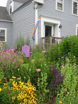 Homes sprinkled with wildflowers