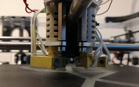 second extrusion head innovied