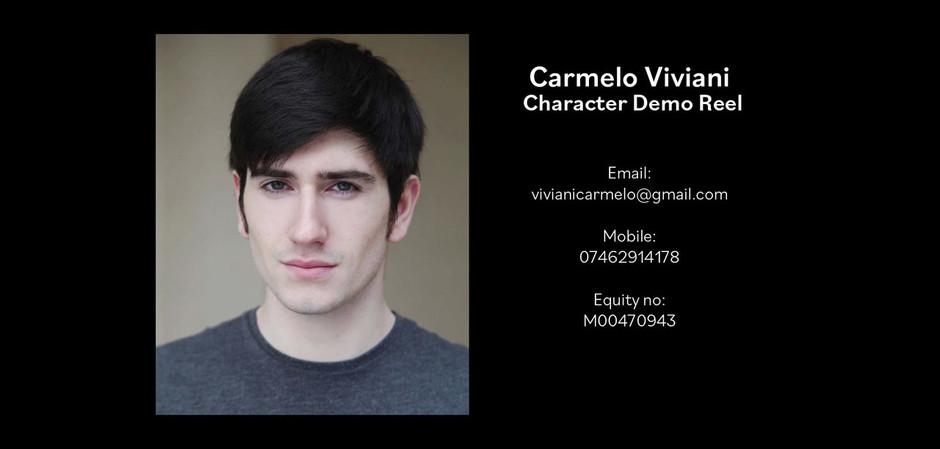 Carmelo Viviani Character Reel