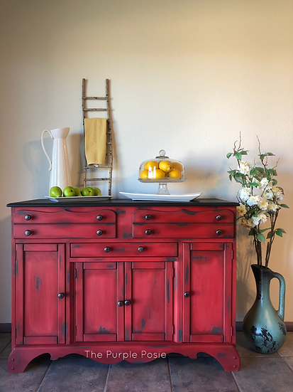 Rustic Red Buffet