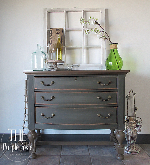 Rustic Buffet and Matching End Tables