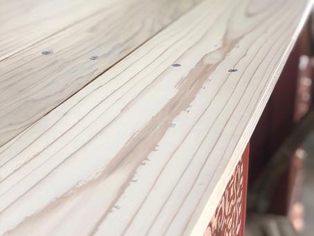 Creating a Barn Wood Top