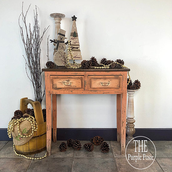 Small Rustic Entry Table