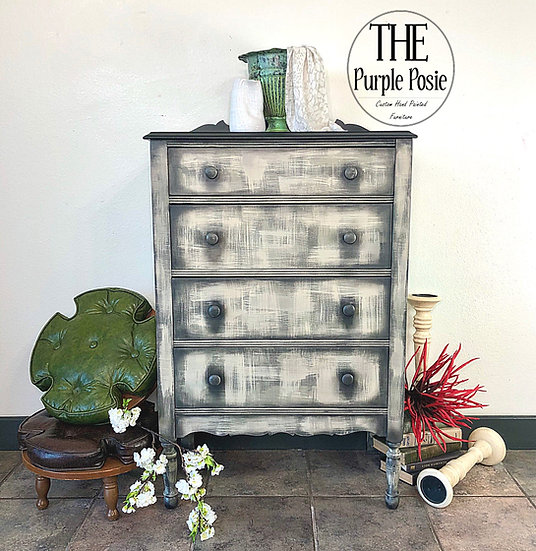Grungy Antique Chest of Drawers