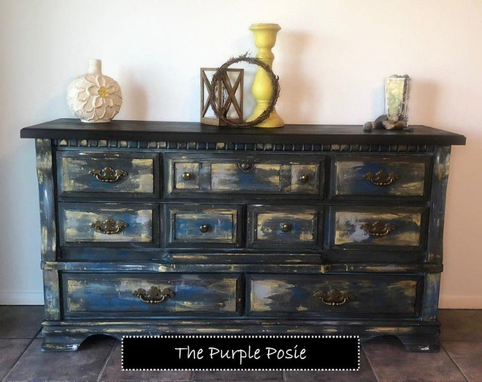 Rustic Boho Dresser