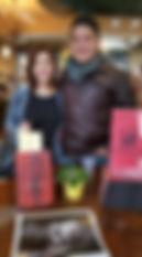 Ben Longoria with his girlfriend Alyssa
