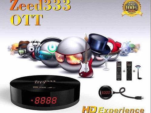 iStar Zeed333 OTT with One Year Online TV ايستار زيد 333 مع 12 اشهرخدمة مجانية