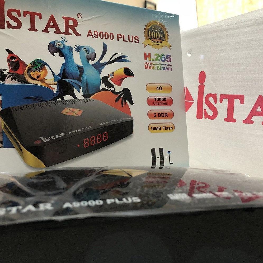 ISTAR A9000 Plus with one year Online TV ايستار مع 12 اشهرخدمة مجانية