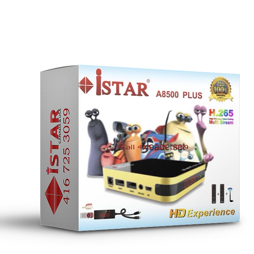 Istar A8500 Plus   ONLINE TV  ايستار