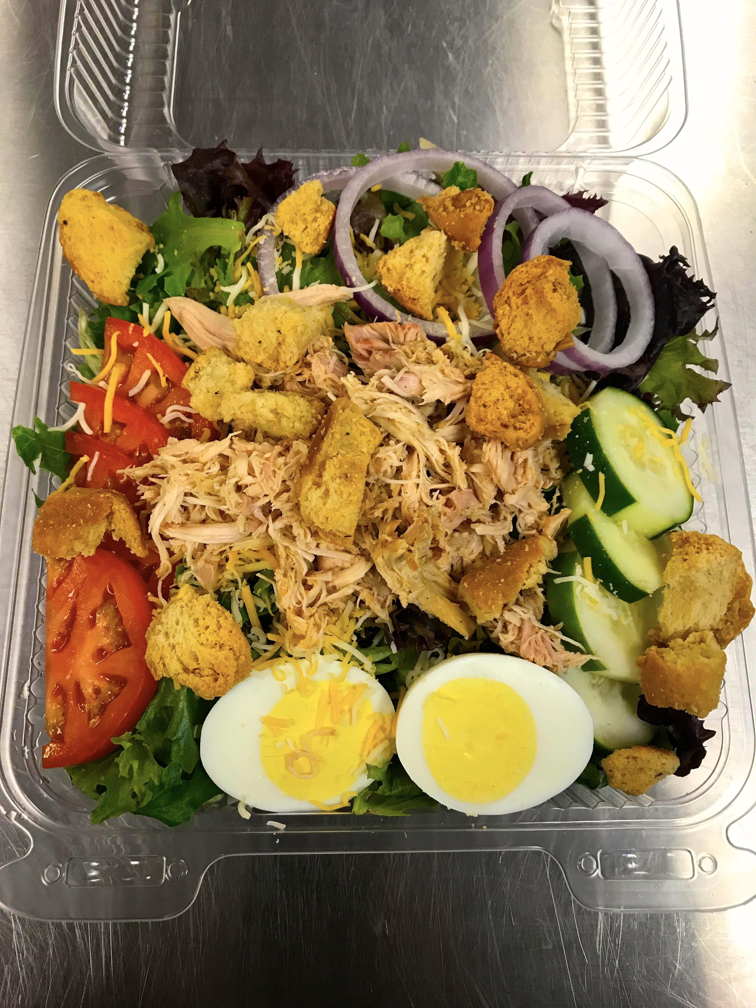 BBQ Salad (Pulled Chicken)