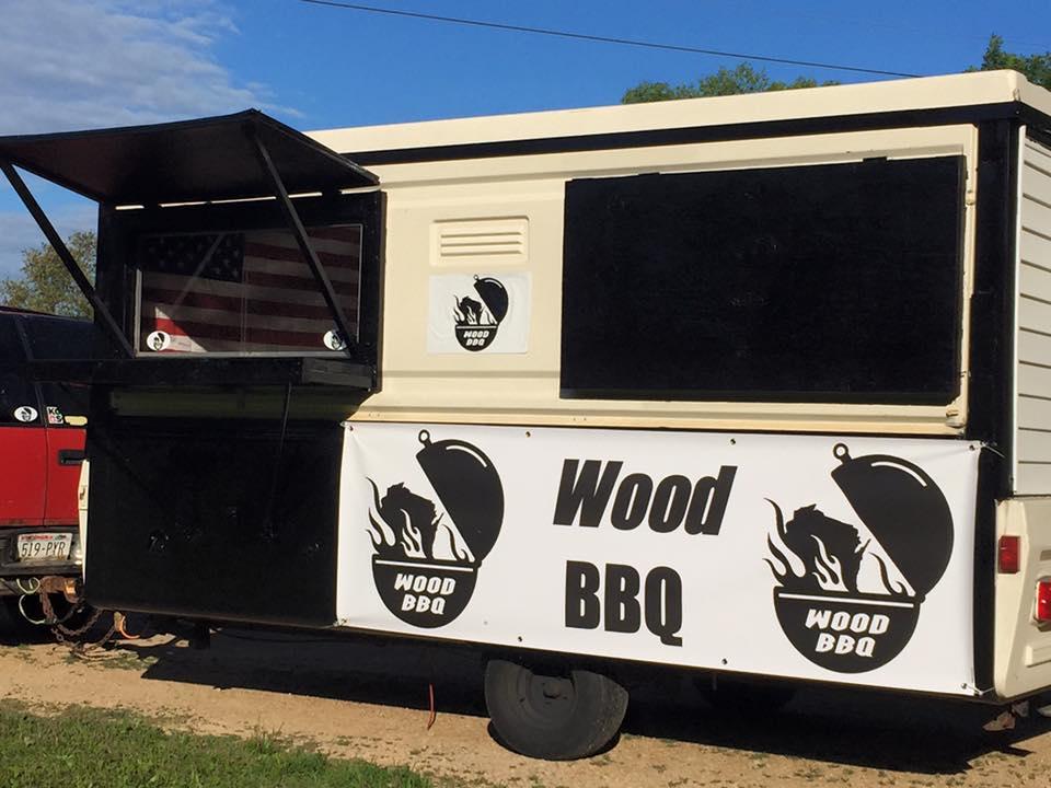 WOOD BBQ TRUCK
