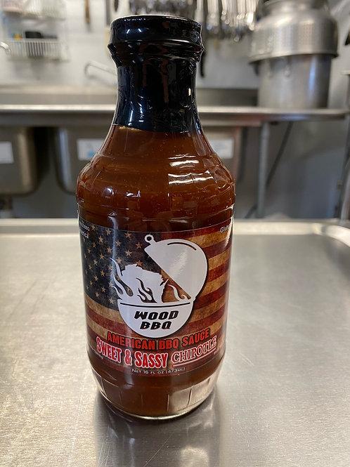 Chipotle Sweet & Sassy BBQ Sauce 16oz