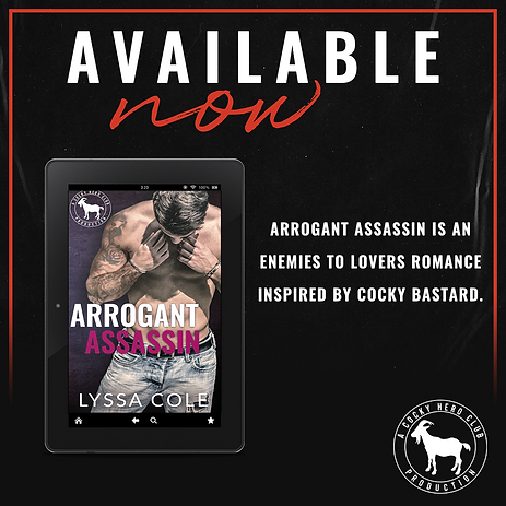 MAY 9 Arrogant Assassin Available Now.pn