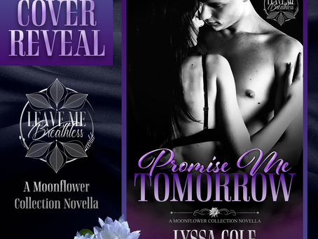 Promise Me Tomorrow Cover Reveal!