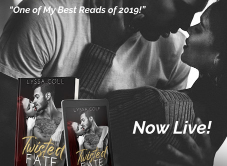 Readers are Loving Twisted Fate!!