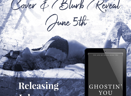 A Bit of a Change- Ghostin You Cover & Blurb Reveal Now June 5th