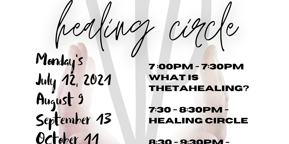 Monthly Healing Circle (Choose Date In Tickets)