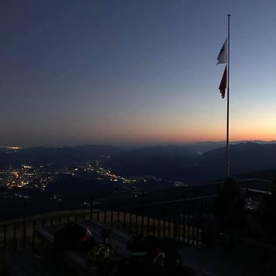 Notturna Capanna Monte Bar
