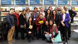 FNLIJ stand at the Bologna Children's Books Fair